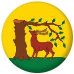 Berkshire County Flag 25mm Button Badge